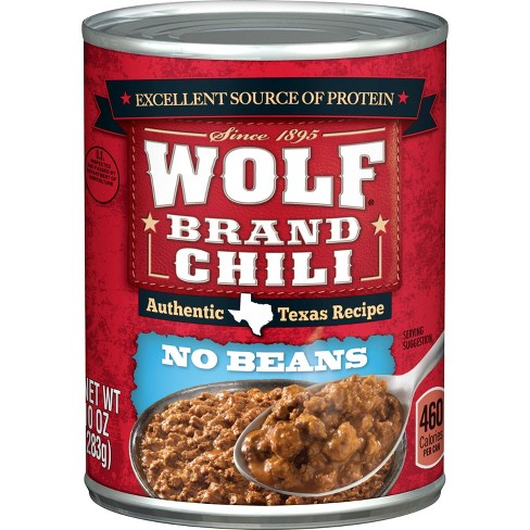 Wolf Brand No Beans Chilli - 10oz - image 1 of 4