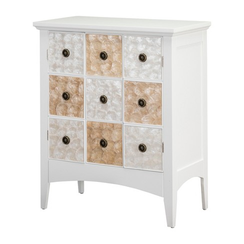 32 Durdle Accent Cabinet White, Accent Cabinet With Drawers