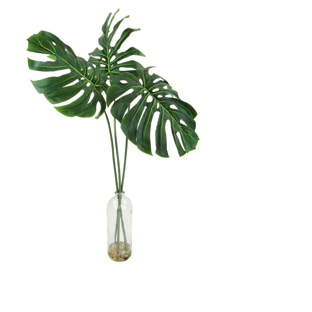 Image of Artificial Philodendron Plant - Green - 38in - Lcg Florals