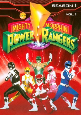 Mighty Morphin Power Rangers: Season 1, Vol. 1 (DVD)