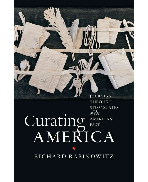 Curating America : Journeys Through Storyscapes of the American Past (Hardcover) (Richard Rabinowitz) - image 1 of 1