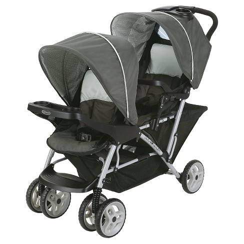Graco® Duo Glider Click Connect Double Stroller - Glacier - image 1 of 7