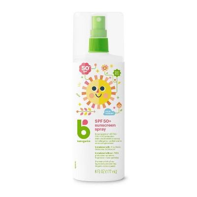 Babyganics Mineral-Based Baby Sunscreen Spray, SPF 50 - 6oz