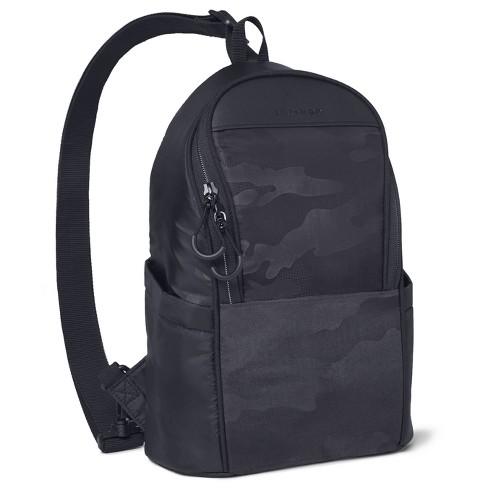 Skip Hop Diaper Bag Backpack Easy-Access Crossbody Sling Paxwell - Black Camo - image 1 of 4