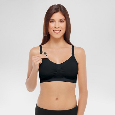 Medela Women's Nursing Seamless Bra - Black S