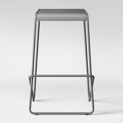 30  Frey Metal Barstool Gray - Project 62™