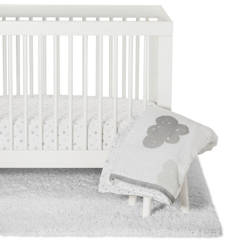 Crib Bedding Set In The Clouds 4pc