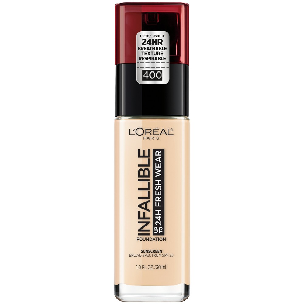 Image of Infallible 24HR Fresh Wear Foundation 400 Pearl - 0.17 fl oz, White 400