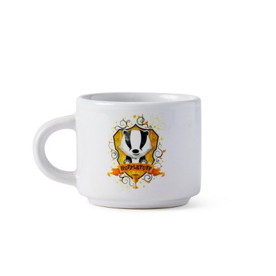 "Seven20 Harry Potter Hogwarts House Hufflepuff Ceramic Mini Mug - 2.67""L x 2""H"