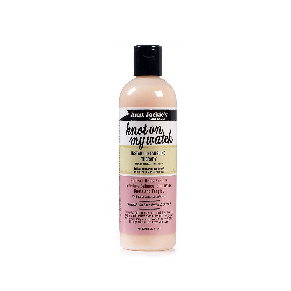 Image of Aunt Jackie's Knot on My Watch Instant Detangling Therapy - 12 fl oz