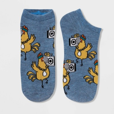 Women's Cool Chick Low Cut Socks - Xhilaration™ Denim Heather 4-10