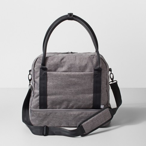 Duffel Bag Heather Gray - Made By Design™ - image 1 of 3
