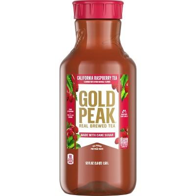 Gold Peak Raspberry Flavored Iced Tea Drink - 52 fl oz