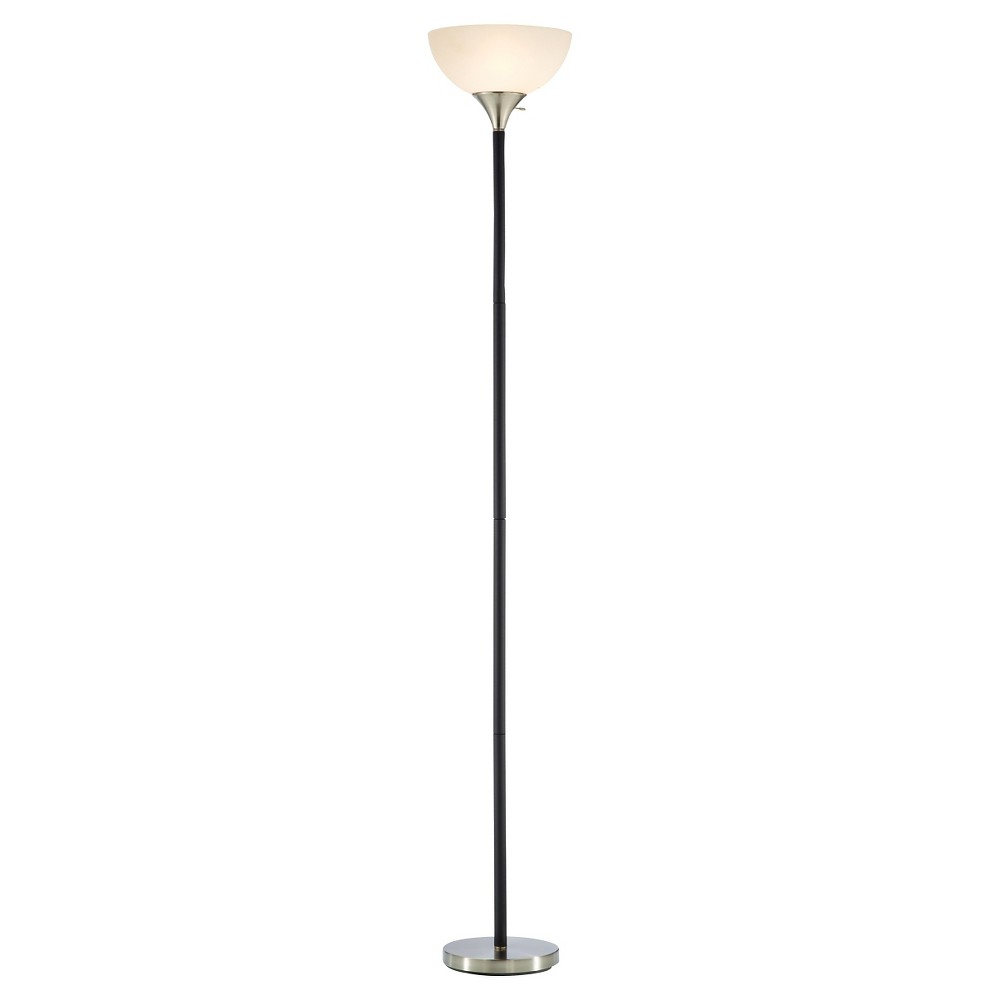 Image of Adesso Gander Floor Lamp - Black