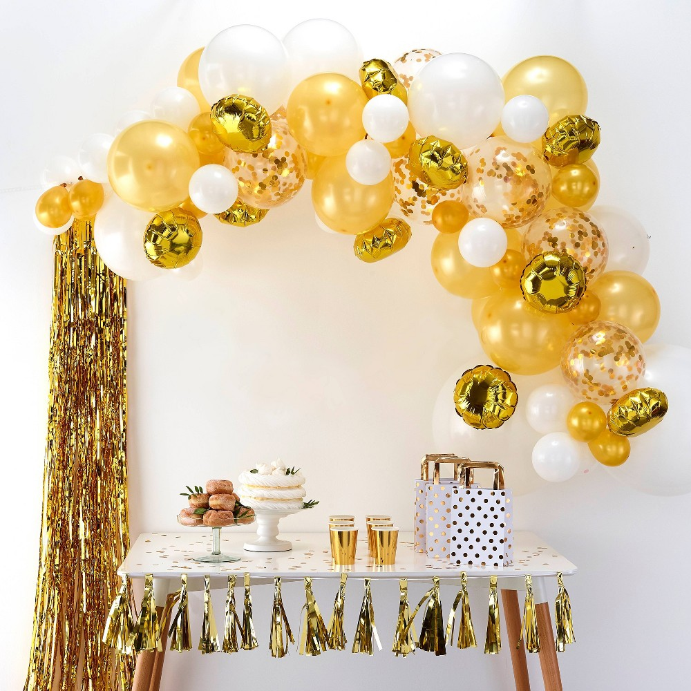 Image of Balloon Arch Gold