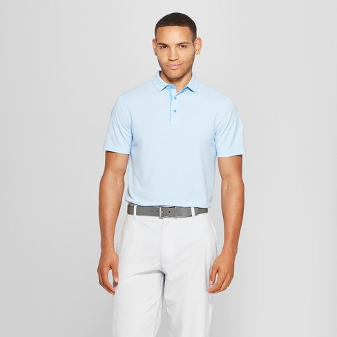 Men's Pique Polo Shirt - C9 Champion® Ocean Front Blue Heather S - image 1 of 2