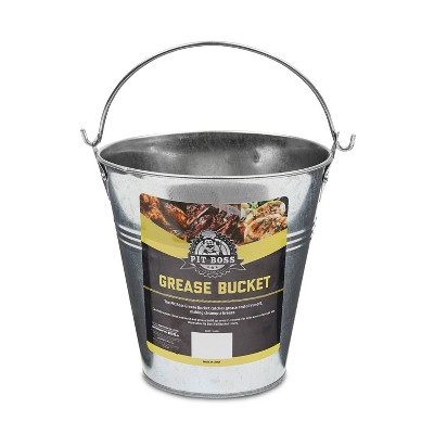 Stainless Steel Grease Bucket - Pit Boss