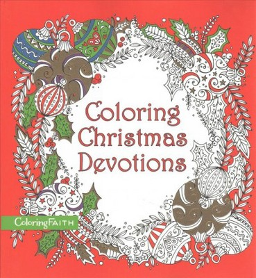 coloring christmas devotions paperback target