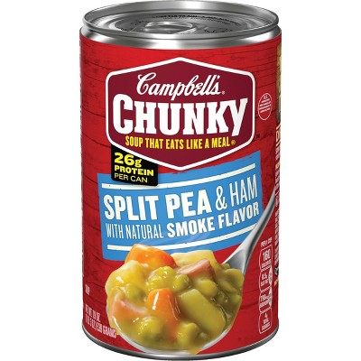 Campbell's® Chunky™ Split Pea with Ham Soup 19 oz