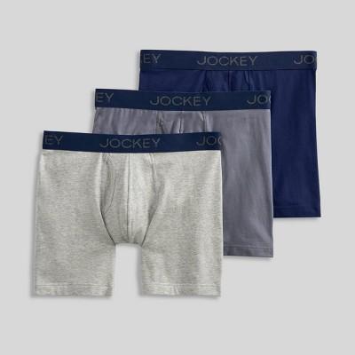 Jockey Generation™ Men's Cotton Stretch 3pk Boxer Briefs