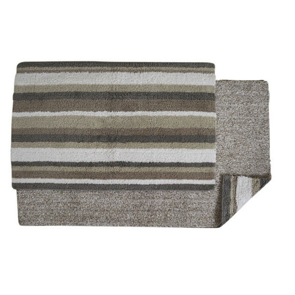 Image of Bath Rug Gray White Better Trends