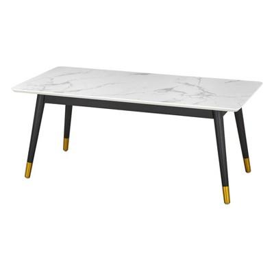 Ricco Coffee Table White/Black - Lifestorey