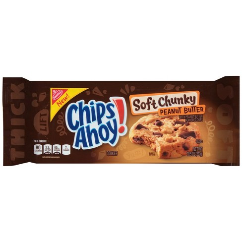 Chips Ahoy! Soft Chunky Peanut Butter Cookies - 10.5oz - image 1 of 2