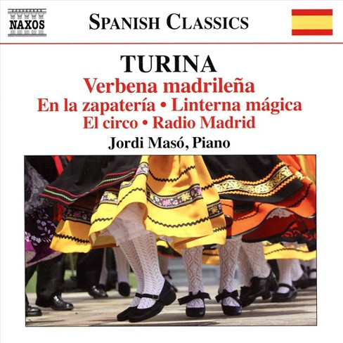 Jordi maso - Turina:Piano music vol 11 (CD) - image 1 of 1
