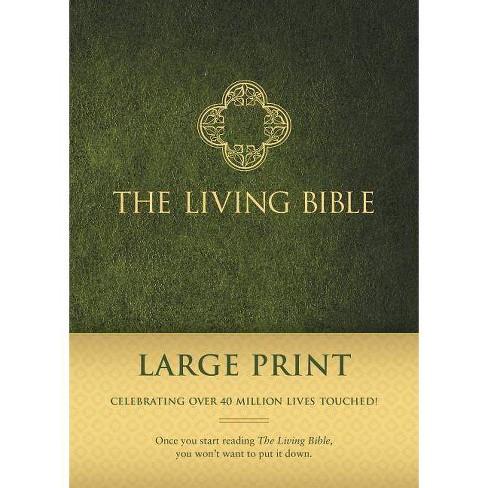 Living Bible Paraphrased-LIV-Large Print - (Hardcover) - image 1 of 1