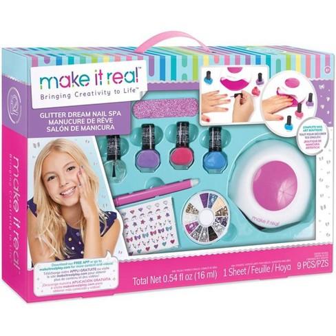 Make It Real Glitter Dream Nail Spa Target