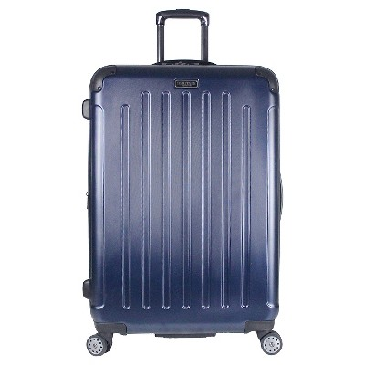 Heritage Logan Square Polycarbonate & ABS Blend Lightweight 8 Wheel Expandable Suitcase - Navy (29 )