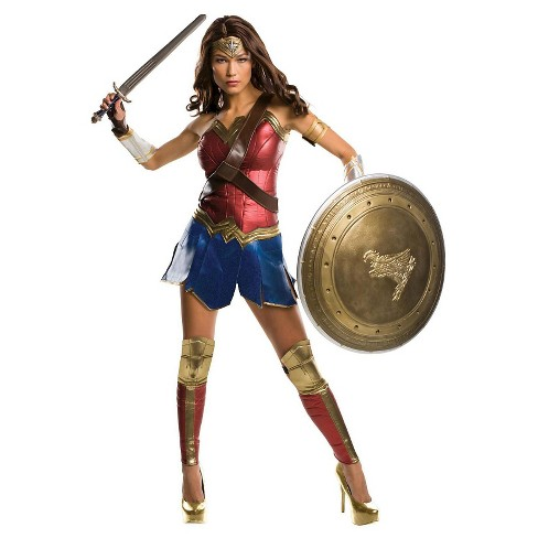 DC Comics Wonder Woman Grand Heritage Adult Costume - image 1 of 1