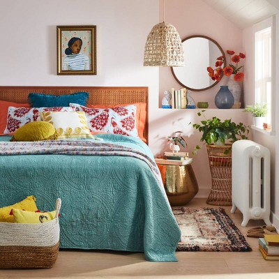 Boho Blue Quilt Bedroom Collection - Opalhouse™