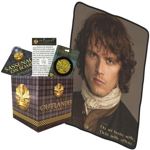 Outlander LookSee Collectibles Box | Fridge Magnets |Car Sign | Embroidered Patch | Throw Blanket - image 1 of 1