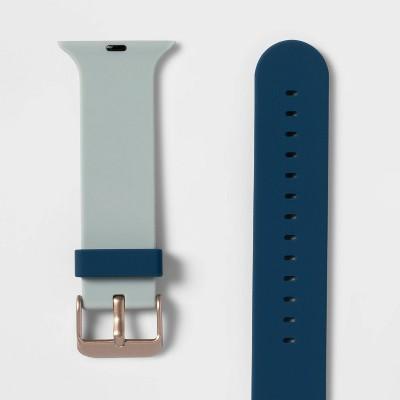 heyday™ heyday Apple Watch band  38/40mm - Powder/Night Blue