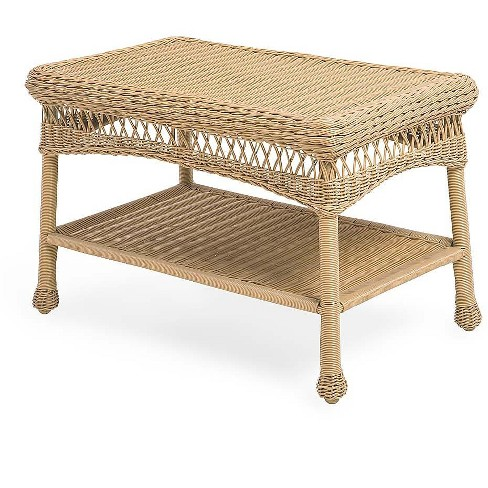 Resin Wicker Coffee Table, How To Clean White Wicker Outdoor Furniture