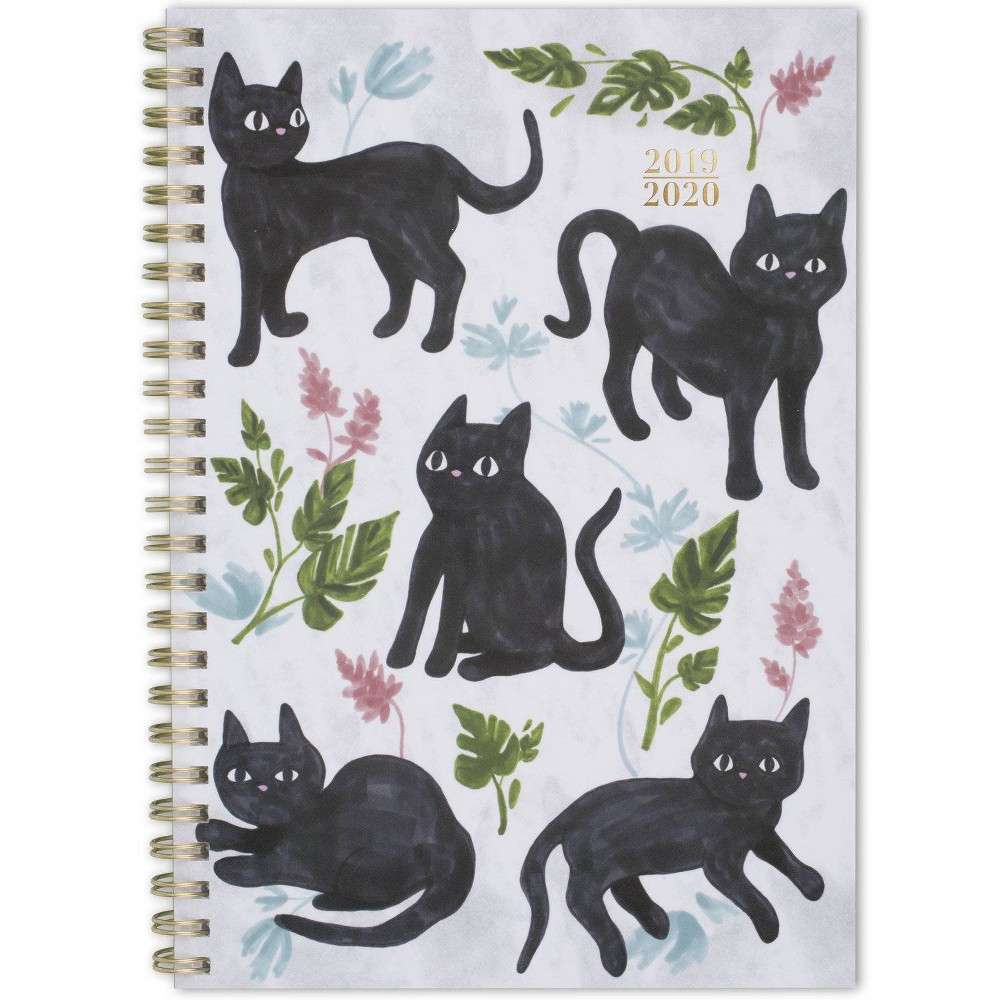 "Image of ""2019-2020 Academic Planner 5.5""""x 8.5"""" Kitty - Cambridge"""