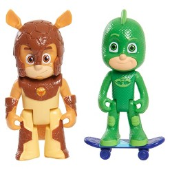 Disney PJ Masks Villains And Hero - Gekko And Armadylan
