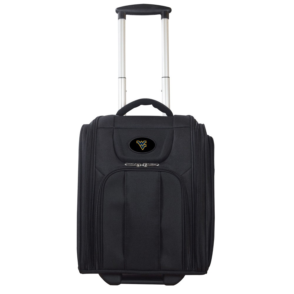 Ncaa West Virginia Mountaineers Deluxe Wheeled Laptop Briefcase Overnighter