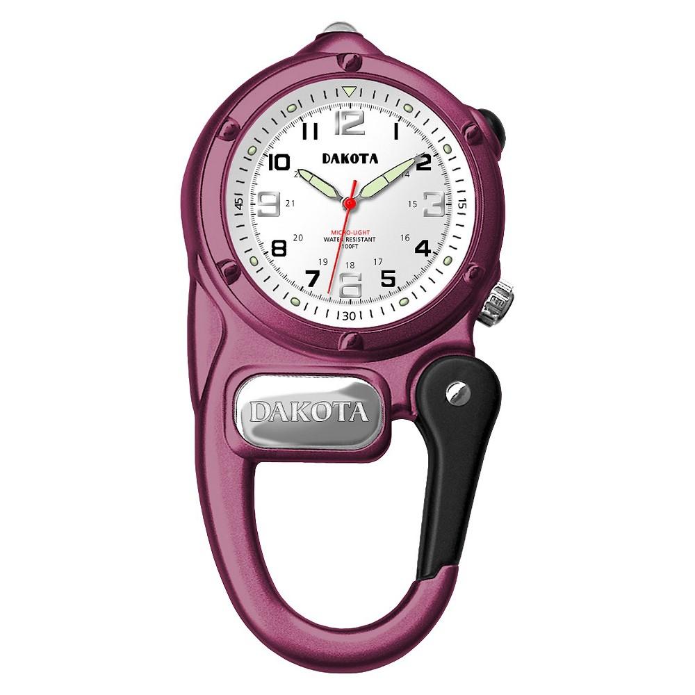 Image of Women's Dakota Mini Clip Microlight Watch - Pink, Size: Small