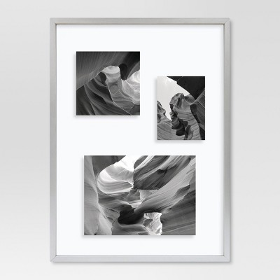 Gallery 11 x15  Silver Float Frame - Project 62™