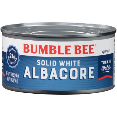 Bumble Bee Solid White Albacore Tuna in Water - 12oz