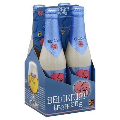 Delirium Tremens Strong Blonde Ale Beer - 4pk/11.2 fl oz Bottles