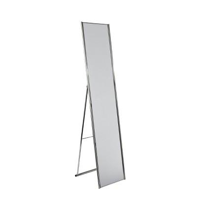 """59"""" Alice Floor Lamp Silver - Adesso"""