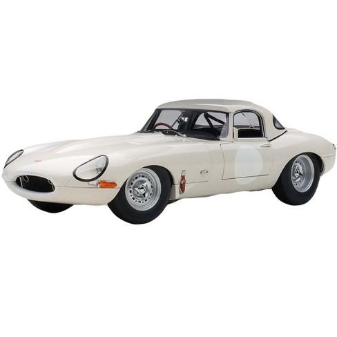 Jaguar Lightweight E Type Roadster RHD (Right Hand Drive) White 1/18 Model Car by Autoart - image 1 of 4