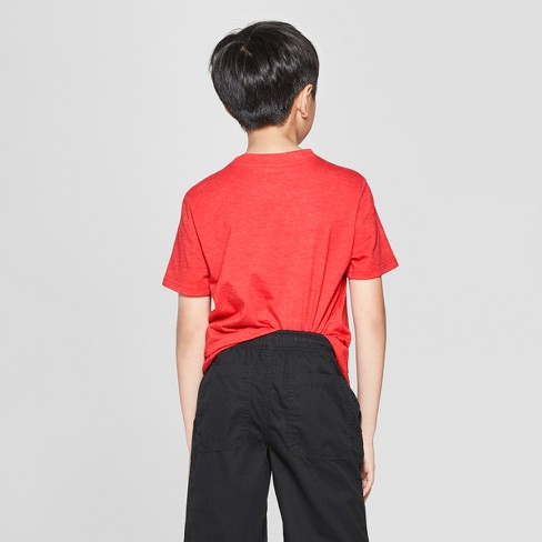 22f945a01e7 Boys  Baseball Short Sleeve Graphic T-Shirt - Cat   Jack™ Red   Target