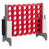 ECR4Kids Jumbo Four-To-Score Giant Game-Indoor/Outdoor 4-In-A-Row Connect - Red and Gray - image 4 of 4