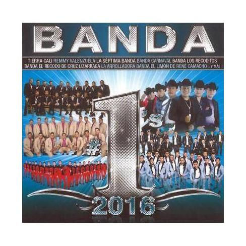 Various - Banda #1's 2016 (CD) - image 1 of 1