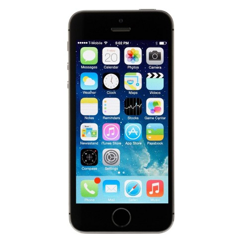 Apple iPhone 5s Pre-Owned (GSM Unlocked) 16GB Smartphone - Space Gray - image 1 of 2