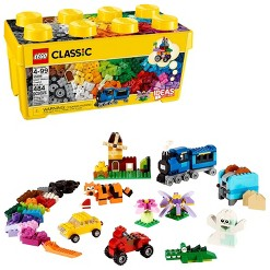 LEGO Classic Medium Creative Brick Box 10696 Building Toys for Creative Play, Kids Creative Kit